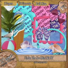 """Disyas Digital Designs: THE BLOG TRAIN """"UNDER THE SEA"""" HOSTED BY WILMA4EVER HAS LEFT THE STATION!!"""
