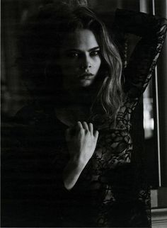 Cara Delevingne by Peter Lindbergh for Interview Magazine (April 2013)