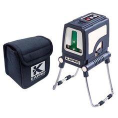 Laser KAPRO® Prolaser® Plus, krížový, GreenBeam, so statívom Wisconsin
