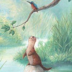 Otter art