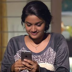 Kirthi Suresh, Texting, Indian Fashion, Actresses, Queen, T Shirt, Instagram, Tops, Text Messages