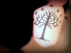 Tree of Gondor  #LOTR #tattoo