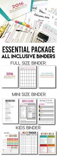 How binders are fantastic for organization! Make your own organization binder for all things finance, events, contacts, birthdays, cleaning schedules, and so much more.   Help your family members get organized. Keep them all in one place to life easier.