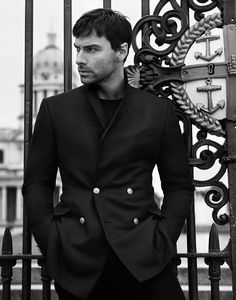 Aidan Turner stars in Dunhill's ad campaign