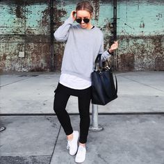 Design and style and boulevard footwear apparel, search our collection of chic streetwear trainers and tennis sneakers. Sneakers Fashion Outfits, Casual Skirt Outfits, Fall Outfits, Cute Outfits, Sarah Day, Ladies Dress Design, Love Fashion, Normcore, Street Style