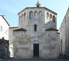 Battistero di San Giovanni, Ascoli Piceno, 11th or 12th c.