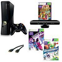 XB360 4 Gb Kinect Dance & Move Bundle ShopNBC.com