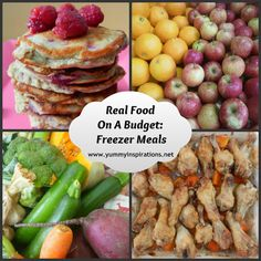 Real Food On A Budget - Series Round-Up - A collection of tips for feeding your family real food on a budget.