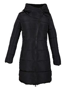 25cdca4c9 ARRIVE GUIDE Women's Casual Slim Solid Zipper-Front Mid-Long Parka Jacket  Coat As Picture Medium