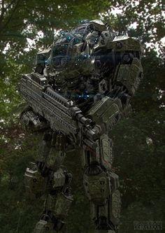 Juggernaut Mech Design Jungle by sancient.deviantart.com on @deviantART