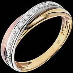 Anneau Trifolie - 13 diamants - 3 ors1000 € (-46%) 540 €
