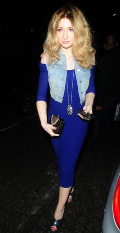 """Nicola Roberts Photos - Monday, May 21, 2012. Nicola Roberts attends Kimberly Walsh's leaving party at the Vanilla Club, London. Harding joined fellow Girls Aloud member Sarah Harding and """"Shrek the Musical"""" cast members to celebrate Kimberley's 8-month run playing Princess Fiona. - Girls Aloud member Nicola Roberts attends Kimberly Walsh's 'Shrek the Musical' leaving party at the Vanilla Club, London."""