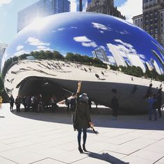 The bean. #chicago #dsmoments