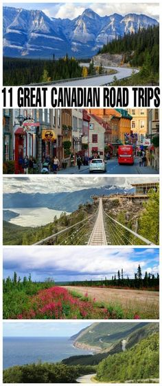 11 Great Canadian Road Trips Ready to hit the road and travel across Canada? Here are 11 Great Canadian Road Trips to add to your summer bucket list. Do one or do them all, and take in some of the diverse landscapes and destinations in Canada. Places To Travel, Travel Destinations, Places To Visit, Family Road Trips, Family Travel, Summer Road Trips, Summer Travel, Family Vacations, Roadtrip Europa