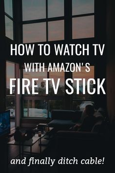 Amazon Fire Stick, Amazon Fire Tv, Watch Tv Without Cable, Cable Tv Alternatives, Free Tv And Movies, Pc Hp, Tv Hacks, Tv Options, Amazon Prime Movies