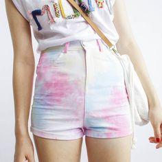 Fabric:+Cotton    Color:+Rainbow    Sizes:+S,+M,+L,+XL    S:+Waist+66cm,+pants+length+31cm,+hip+86cm,    M:+Waist+68cm,+pants+length+31cm,+hip+88cm,    L:+waist+70cm,+pants+length+31cm,+hip+90cm,    XL:+Waist+72cm,+pants+length++31cm,+hip+92cm,