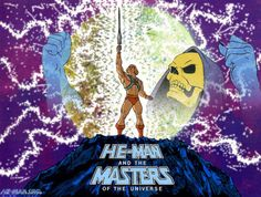 He-Man and the Masters of the Universe. 80s cartoons