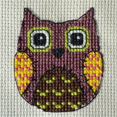 My frees | Lindashee - leisure and creations  free owl, click on picture for chart