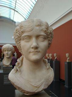 (c. 25 BCE - 65 CE) Portrait of a Roman Woman