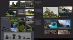 ArtStation - Uncharted 4 Small Island-1, Aaron Limonick