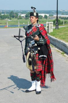 Rumor has it he follows you around the course and when you get a hole in one he stops playing bagpipes and rings a bell.......