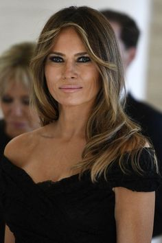 Melania Trump ☀ in ♉ - Donald Trump Family, Donald And Melania Trump, First Lady Melania Trump, Melania Trump Hair Color, Melania Trump Model, Milania Trump Style, Milania Trump Hair, Melina Trump, Melania Knauss Trump