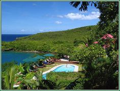 St. Lucia's Ti Kaye Village. It is where we spent our honeymoon