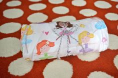 Ballerina fitted crib/toddler bed sheet by SunKissedPoppy on Etsy