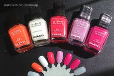 Chanel Mirabella, Eastern Light, Pink Tonic, Tutti Frutti, and Sweet Lilac Swatches and Review