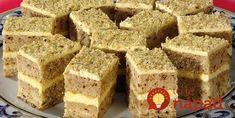 Druh receptu: Sladkosti - Page 20 of 326 - Mňamky-Recepty. Torte Recepti, Kolaci I Torte, Czech Recipes, Russian Recipes, Baking Recipes, Cake Recipes, Dessert Recipes, Sweet Desserts, Sweet Recipes