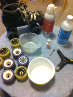 How to Clean Roller Skate Bearings. (Also, for the Kwik bearings that come standard with Riedell R3s: http://www.skatelogforum.com/forums/showthread.php?t=33611)