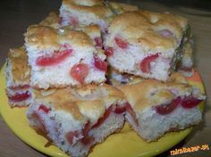 Konečne super bublanina Czech Recipes, Russian Recipes, Ethnic Recipes, Eastern European Recipes, Sushi, Sandwiches, Recipies, Muffin, Cooking Recipes