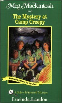 While attending summer camp for the first time, Meg tries to solve the mystery of the camp's legendary ghost. The reader is challenged to interpret each clue before Meg finds the solution.