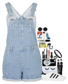 ❝I'm Losing Myself.❞ by xpenguinmeldoiesx on Polyvore featuring polyvore fashion style Boohoo Topshop adidas Originals Pyrex Georgie Beauty NARS Cosmetics Lord & Berry Sharpie clothing