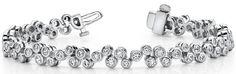 Diamantarmband mit 2.00 Karat Diamanten aus 585er Weißgold bei www.diamantring.be für nur 4500.00 Euro Versandkostenfrei bestellen.