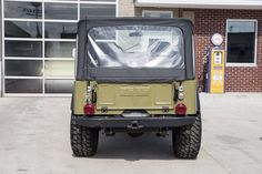This 1973 Jeep has a Liter Inline 6 Cylinder w/ Weber Carb, 4 Speed Manual Transmission, Dana 30 Rear w/ Ratio, Dana 44 Front Axle, Power. Jeep Cj6, Jeep Willys, Jeep Hacks, Jeep Doors, Electric Winch, Vintage Jeep, Cool Jeeps, Jeep Wrangler Unlimited, Manual Transmission