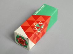 Old Czech kaleidoscope box — Designer unknown