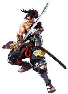 View an image titled 'Mitsurugi Art' in our Soulcalibur III art gallery featuring official character designs, concept art, and promo pictures. Character Concept, Character Art, Concept Art, Samurai Art, Samurai Warrior, Video Game Characters, Fantasy Characters, Soul Calibur Characters, Ninja Art