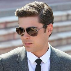 Zac Efron Hair - The Classic Side Part
