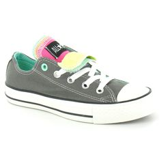 3a16e082ae0e Buy the Converse Chuck Taylor All Star Five Tongue Unisex Canvas Oxford  Shoes in Charcoal Grey