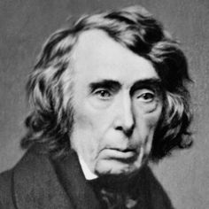 Chief Justice Roger B. Taney, nearly 84, administered the oath of office to Lincoln for his first term.