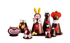 Wonderland easter chocolate collection by Pierre Marcolini