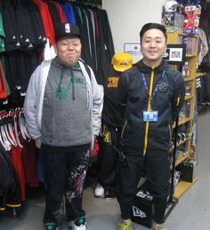 【新宿2号店】 2013年4月16日 常連様のタノウチ様にご来店頂きました! 次回の狙い目はお決まりですか?今後も続々と新商品が入荷予定ですよ♪ #nba