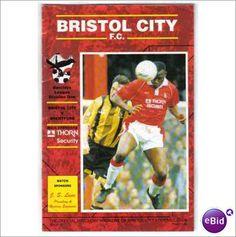 Bristol City v Brentford 08/05/1993 Football Programme Division 1 Sale