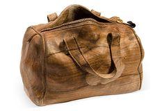 Hand-Carved Wooden Handbag on OneKingsLane.com Livio de Marchi