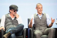 Tommy Flannigan and Theo Rossi! So adorable!
