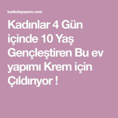 Kadınlar 4 Gün içinde 10 Yaş Gençleştiren Bu ev yapımı Krem için Çıldırıyor ! Diy And Crafts, Health Fitness, Food And Drink, Hair Beauty, Dua, Jimmy Choo, Pattern, Masks, Fitness