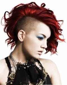Gorgeous Undercut Medium Hairstyle ~ Punk Hairstyles 2014