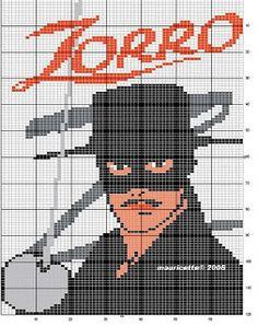 ENCANTOS EM PONTO CRUZ: Zorro