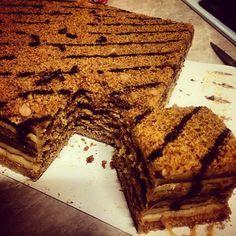 Anything tastier than this honey cake? Delicious Marlenka cakes!